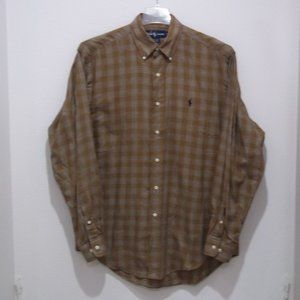 Ralph Lauren Yarmouth Mens Shirt Plaid 2008